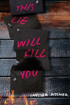 "book cover ""This lie will kill you"" by Chelsea Pitcher"