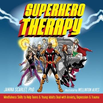 Superhero Therapy book cover
