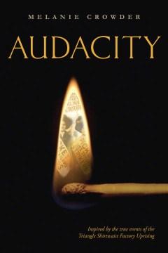"book cover ""Audacity"" by Melanie Crowder"