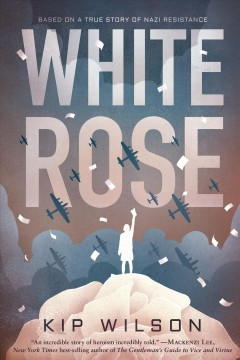 """Book Cover """"White Rose"""" by Kip Wilson"""