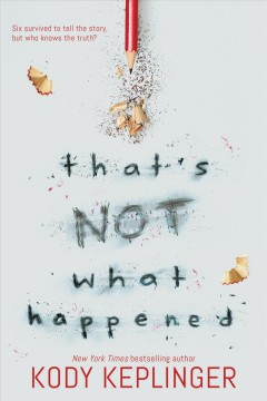 That's Not What Happened book cover