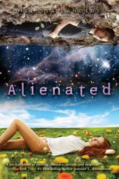 """book cover """"alienated"""" by Melissa Landers"""