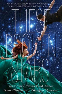 """Book Cover """"These broken stars"""" by Amie Kaufman"""