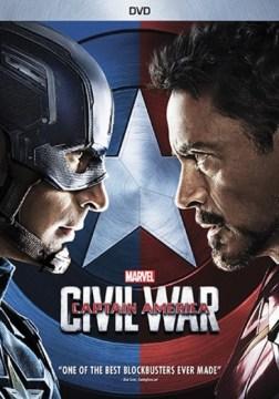 Captain America: Civil War DVD cover