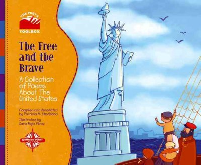 Illustration of immigrants passing the Statue of Liberty in a boat
