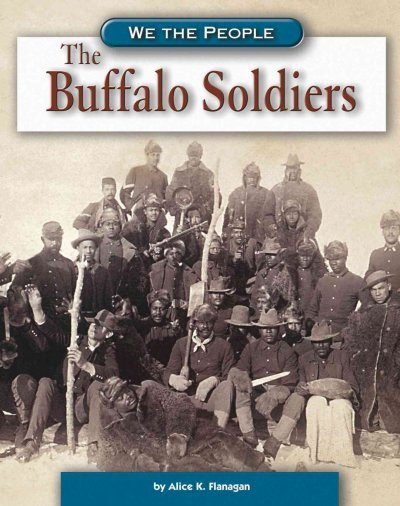 Photograph of African American calvary soldiers, commonly referred to as the Buffalo Soldiers, from the late 1800s