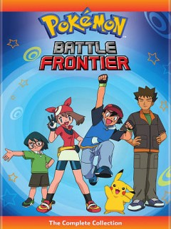 Pokémon. Battle Frontier the complete collection.