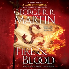 Fire & blood [spoken compact disc]