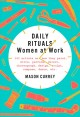 Daily rituals : women at work