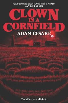 Clown in a cornfield