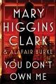 You don't own me : an under suspicion novel