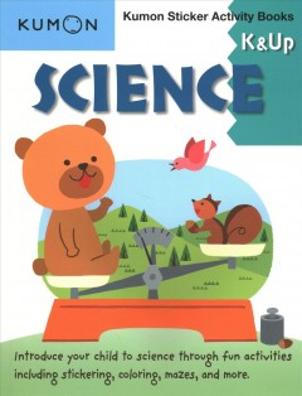 Science: K & Up (Kumon Sticker Activity Books)